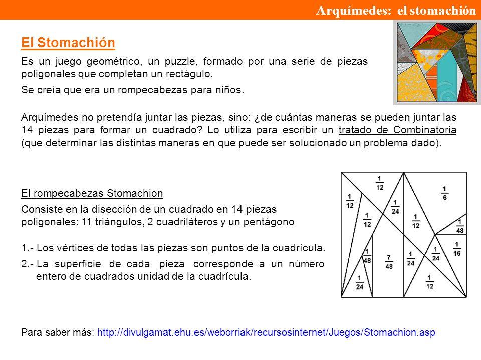 Arquímedes: el stomachión
