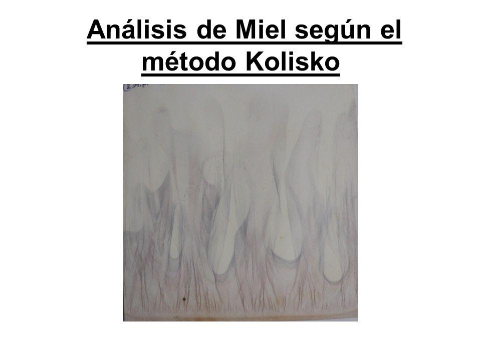 Análisis de Miel según el método Kolisko
