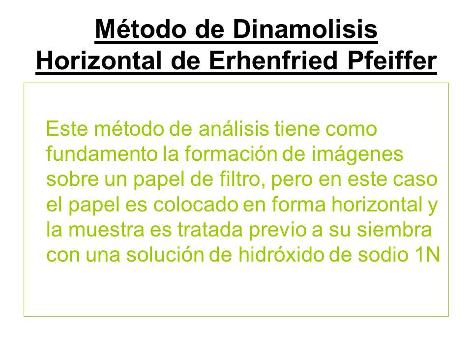 Método de Dinamolisis Horizontal de Erhenfried Pfeiffer