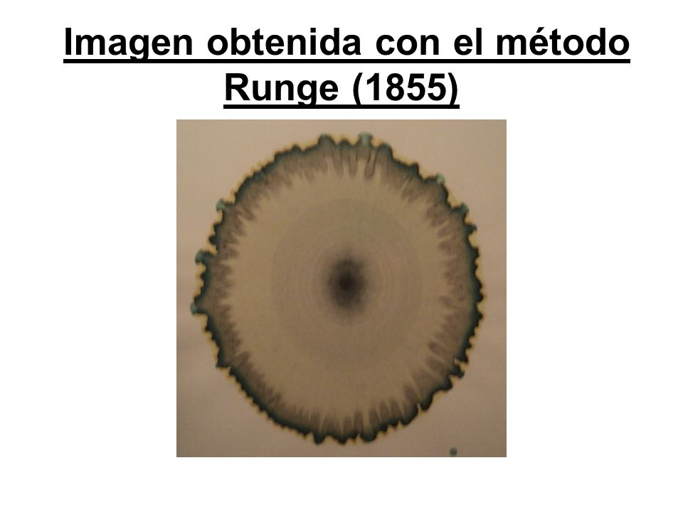 Imagen obtenida con el método Runge (1855)