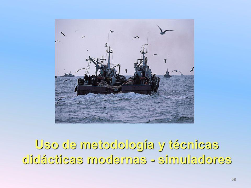 Uso de metodología y técnicas didácticas modernas - simuladores