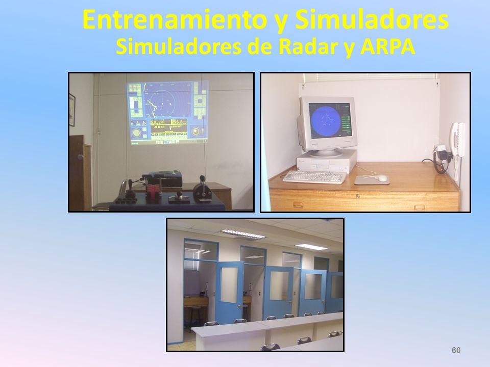 Entrenamiento y Simuladores