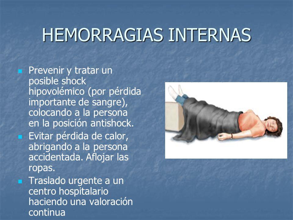 HEMORRAGIAS INTERNAS