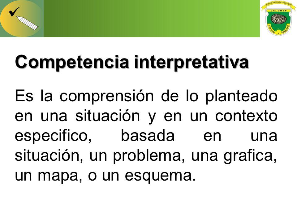 Competencia interpretativa