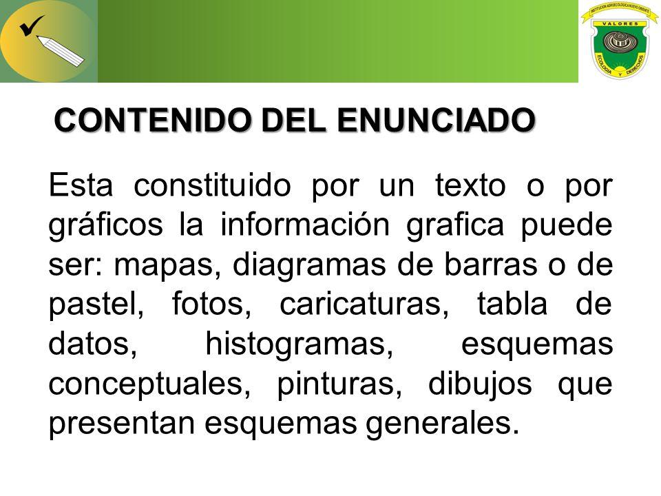 CONTENIDO DEL ENUNCIADO