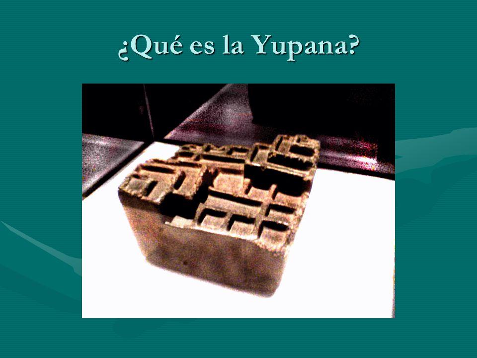 ¿Qué es la Yupana