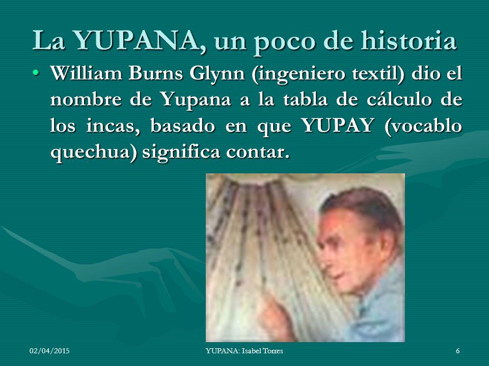 La YUPANA, un poco de historia