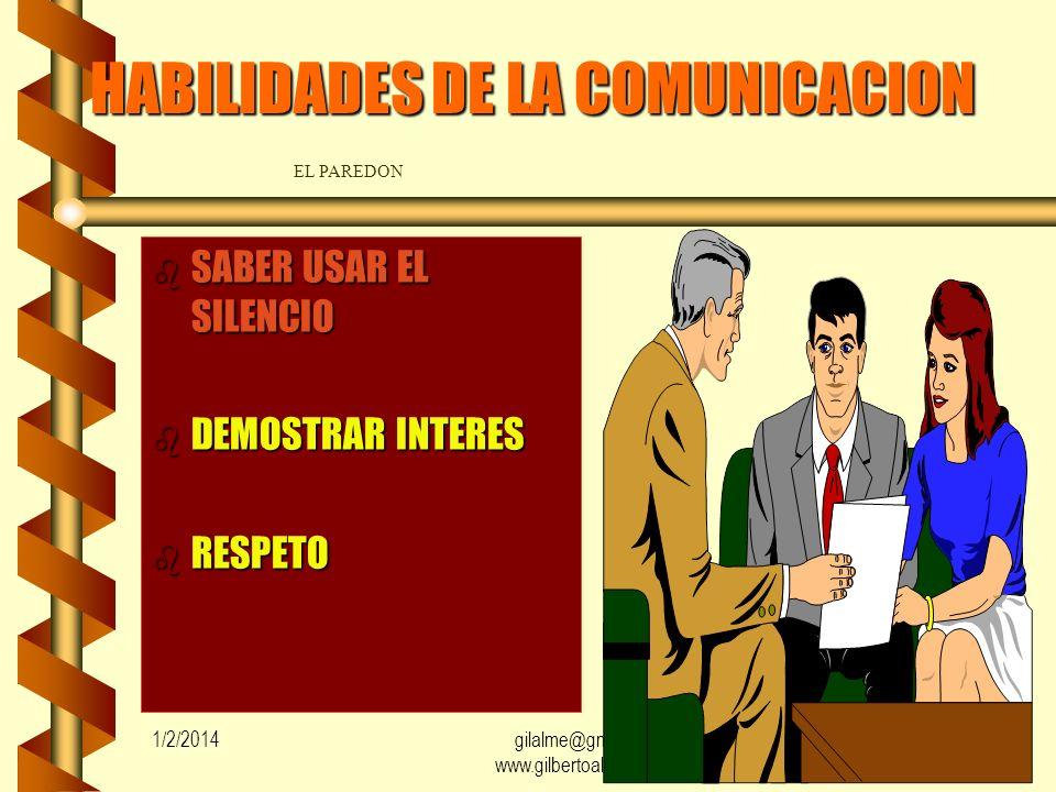 HABILIDADES DE LA COMUNICACION