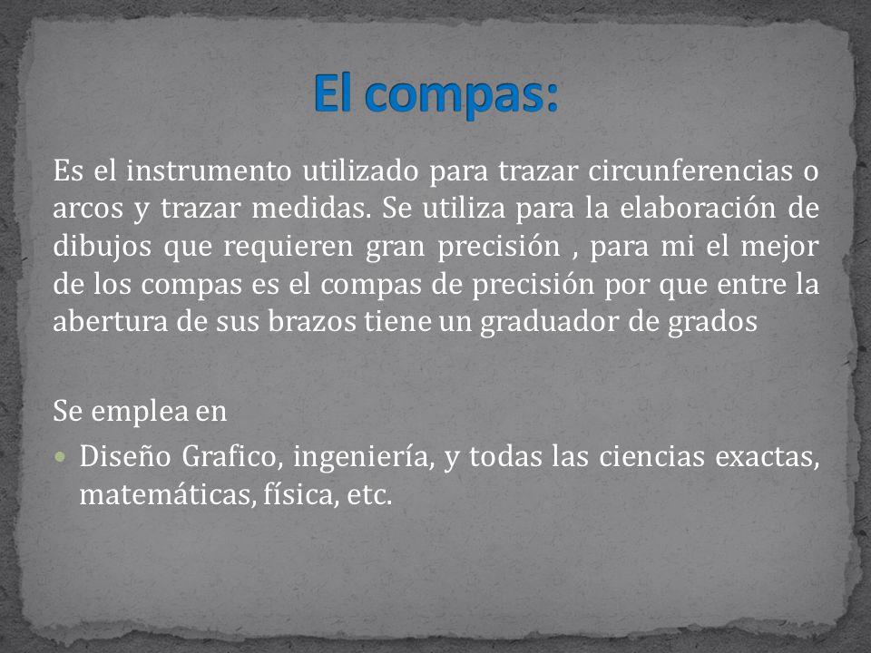 El compas: