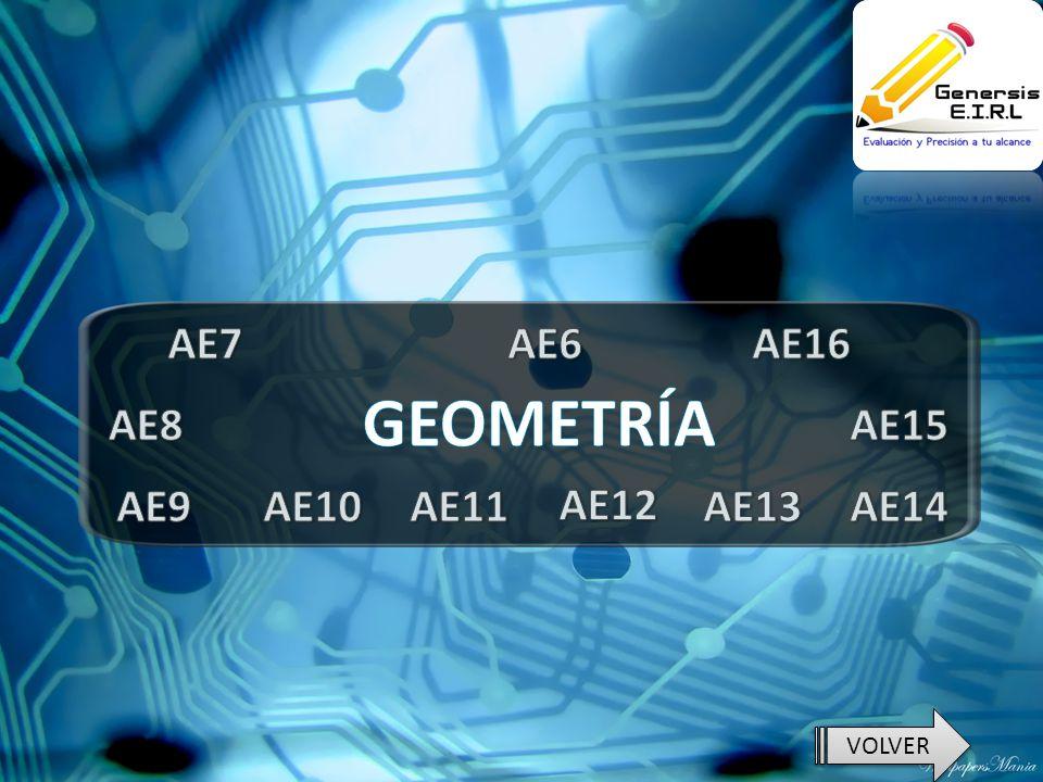 AE7 AE6 AE16 GEOMETRÍA AE8 AE15 AE9 AE10 AE11 AE12 AE13 AE14 VOLVER