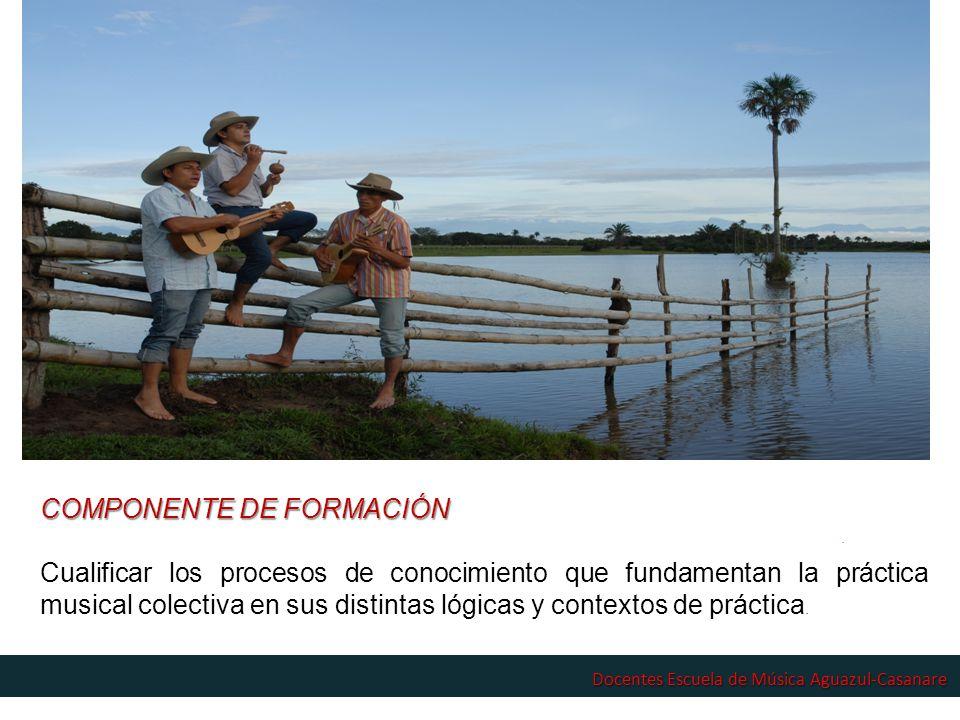 COMPONENTE DE FORMACIÓN