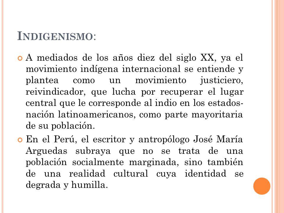 Indigenismo: