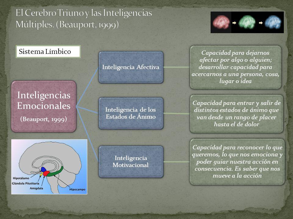 El Cerebro Triuno y las Inteligencias Múltiples. (Beauport, 1999)