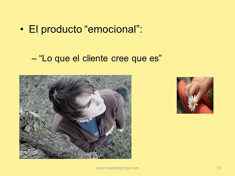 El producto emocional :