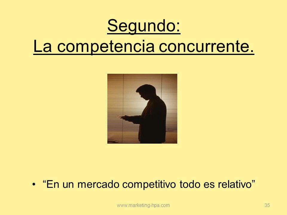 Segundo: La competencia concurrente.