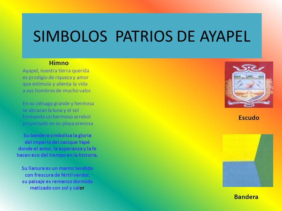 SIMBOLOS PATRIOS DE AYAPEL