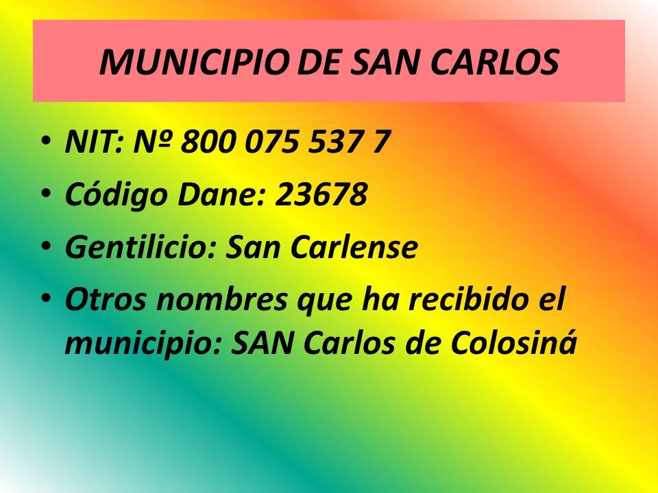 MUNICIPIO DE SAN CARLOS
