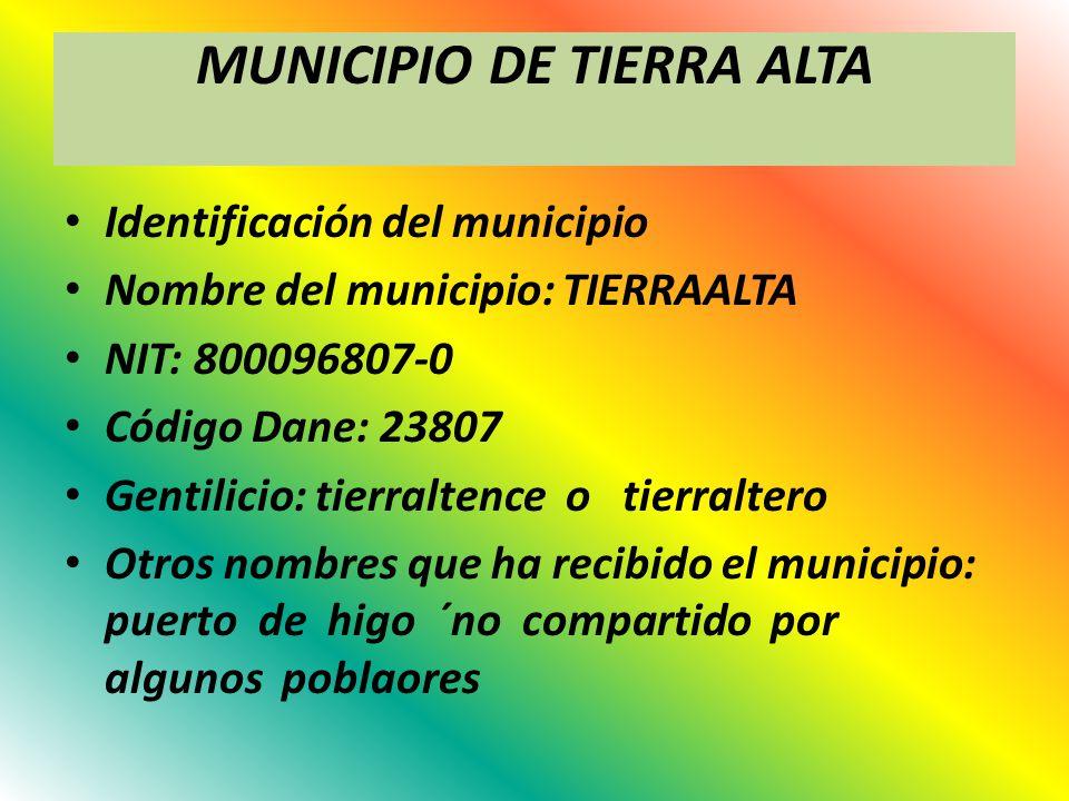 MUNICIPIO DE TIERRA ALTA