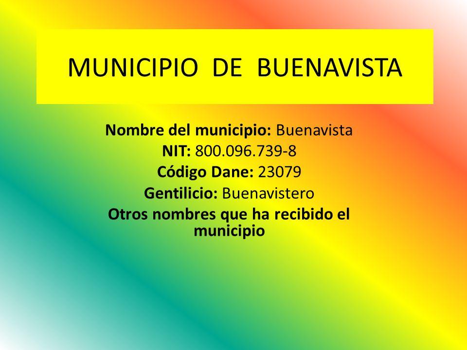 MUNICIPIO DE BUENAVISTA