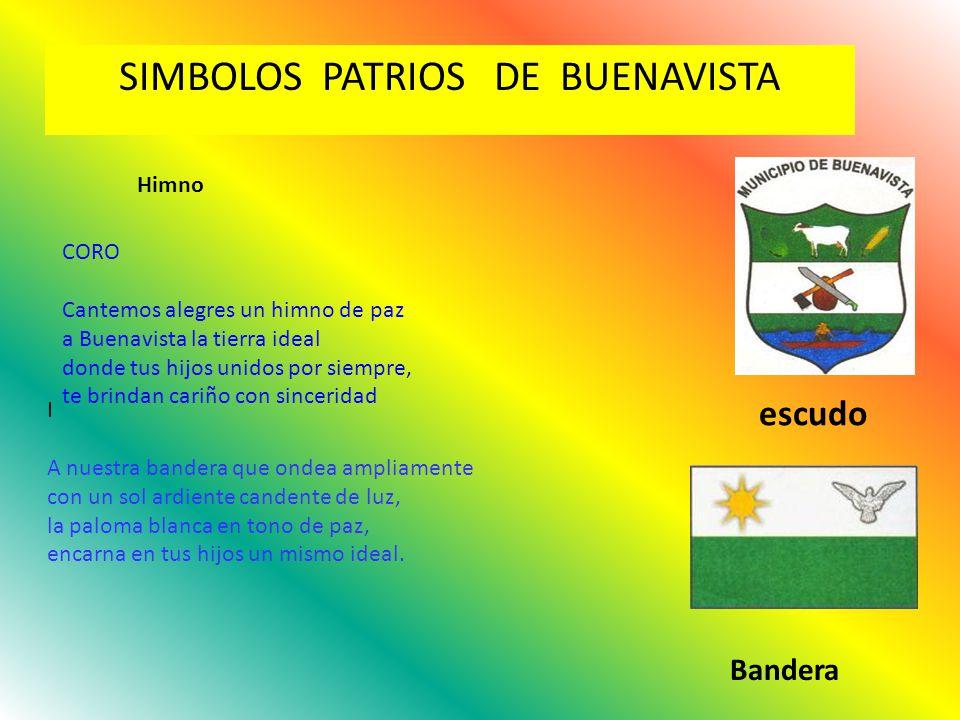 SIMBOLOS PATRIOS DE BUENAVISTA