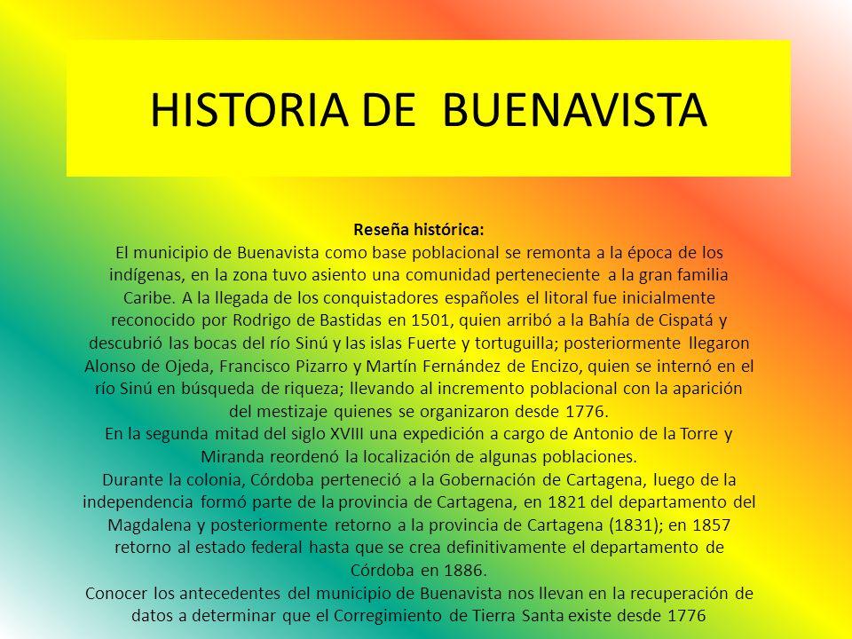 HISTORIA DE BUENAVISTA