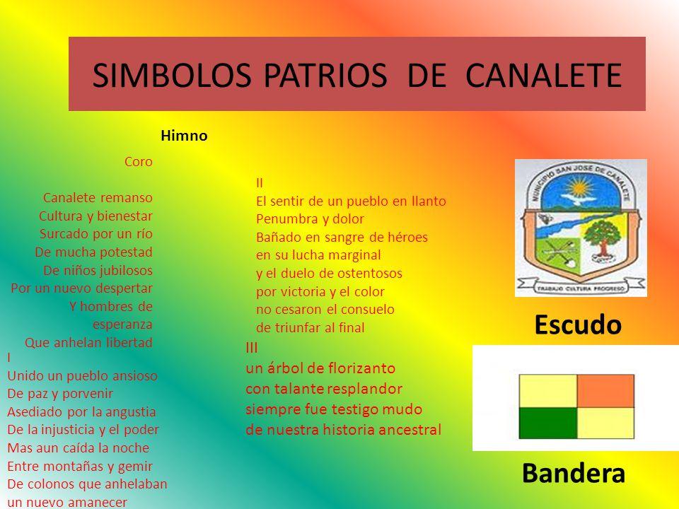 SIMBOLOS PATRIOS DE CANALETE