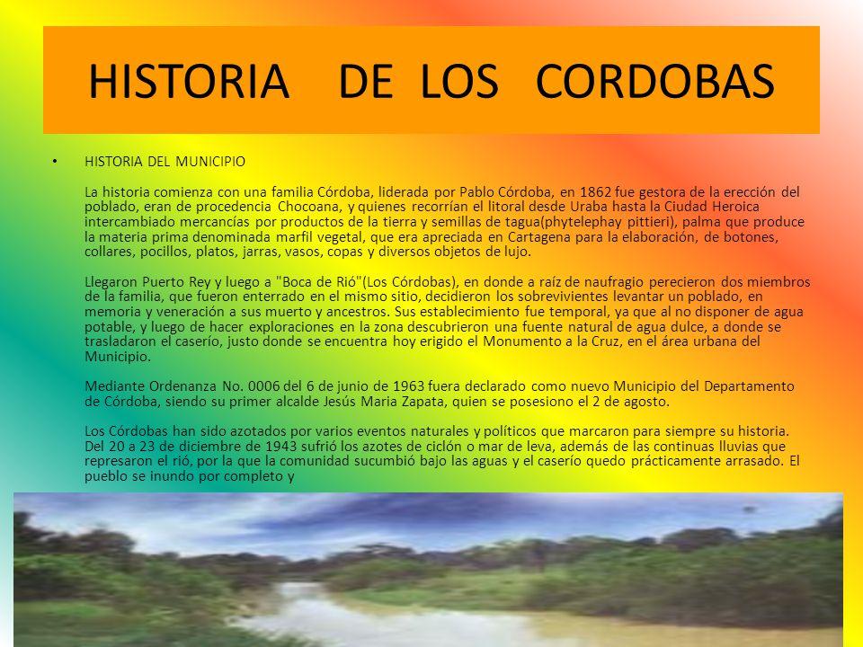 HISTORIA DE LOS CORDOBAS
