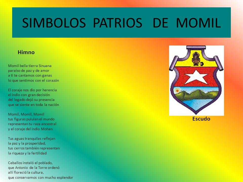 SIMBOLOS PATRIOS DE MOMIL