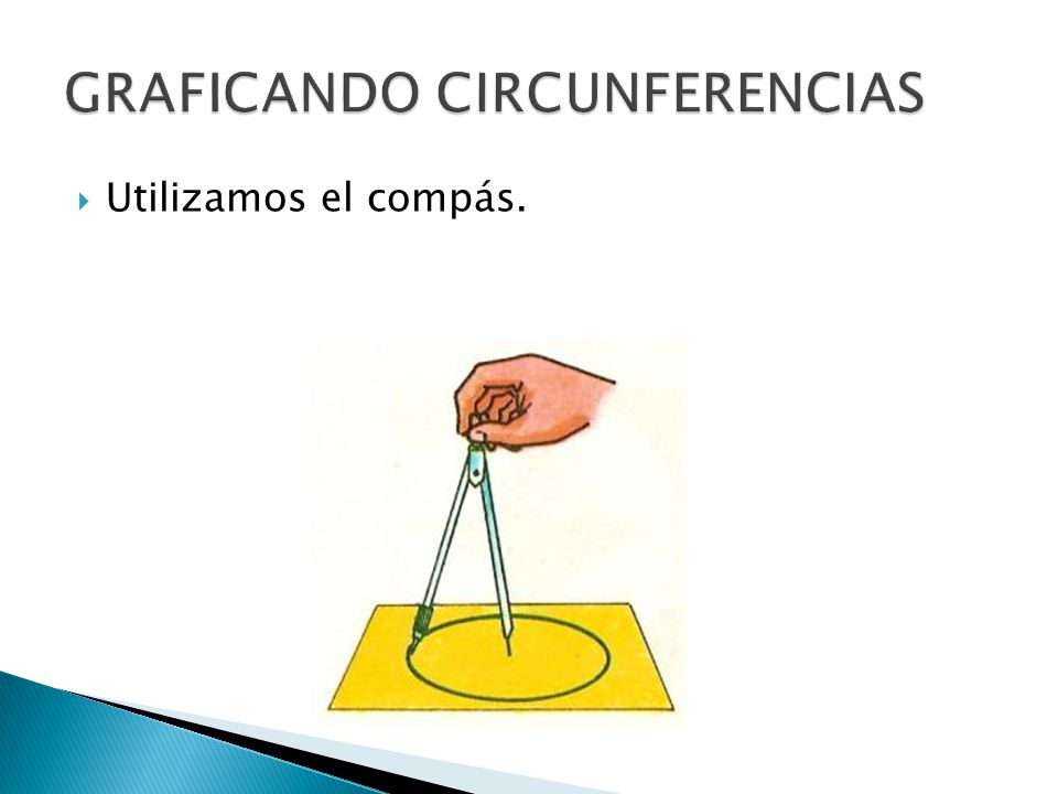 GRAFICANDO CIRCUNFERENCIAS