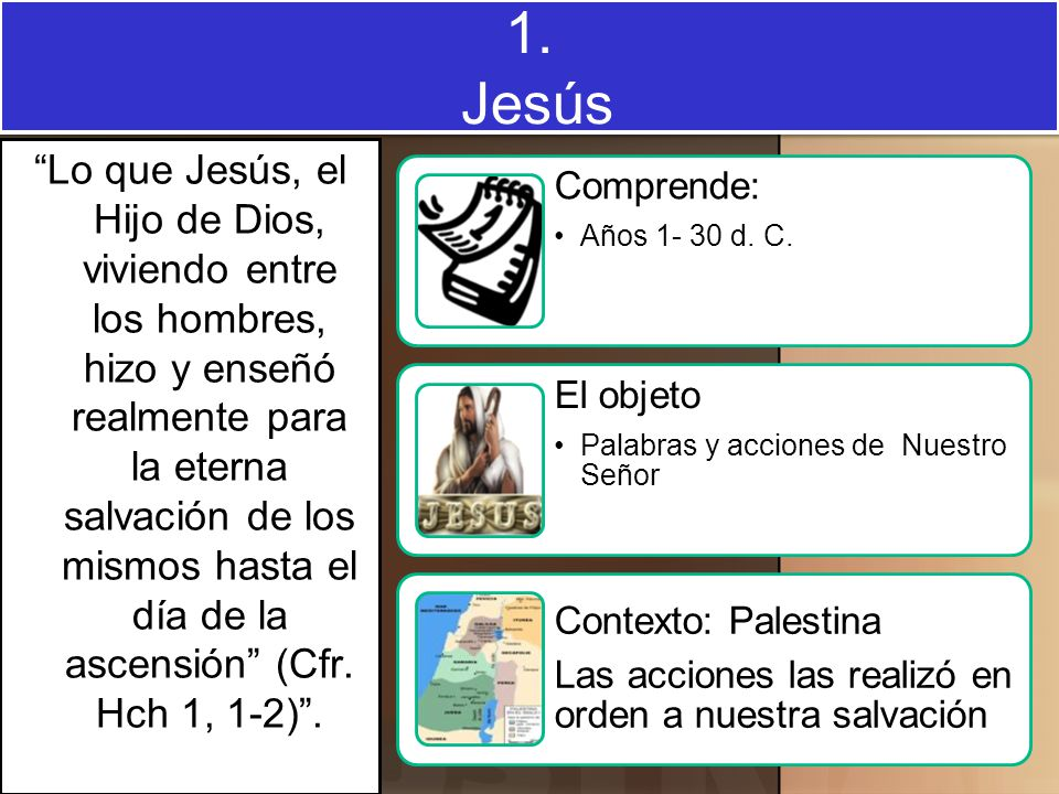 1. Jesús