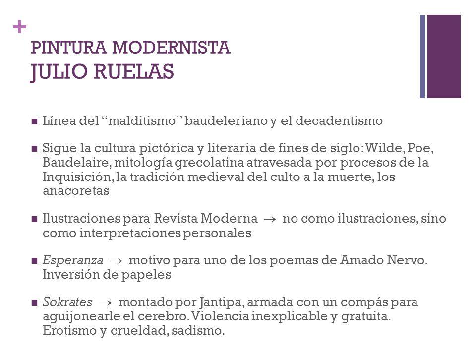 PINTURA MODERNISTA JULIO RUELAS