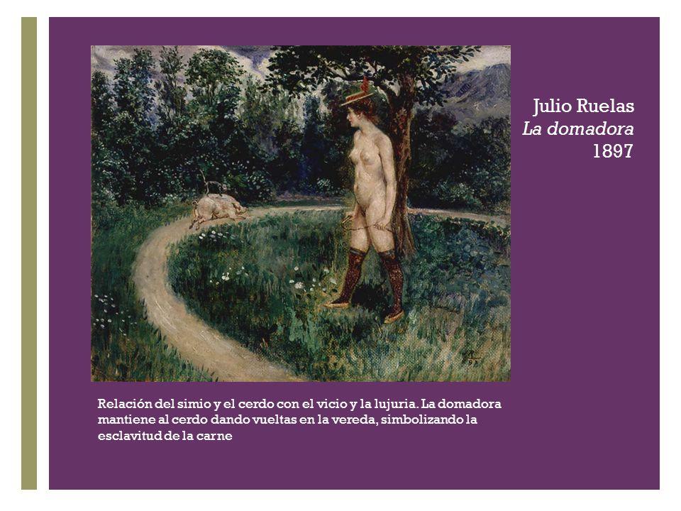 Julio Ruelas La domadora 1897