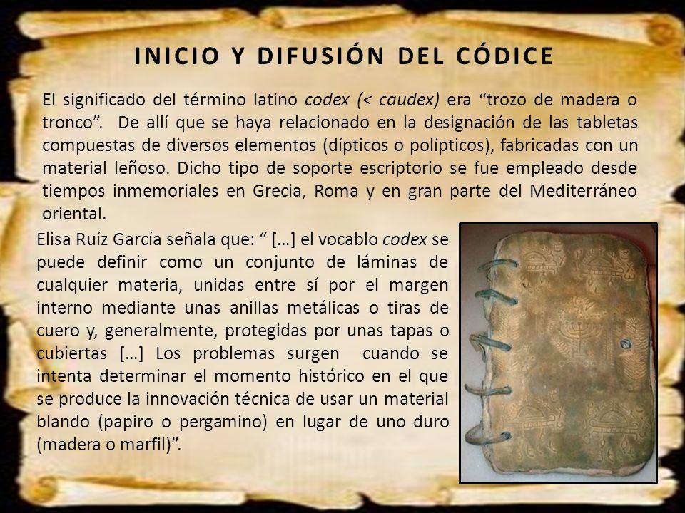 INICIO Y DIFUSIÓN DEL CÓDICE