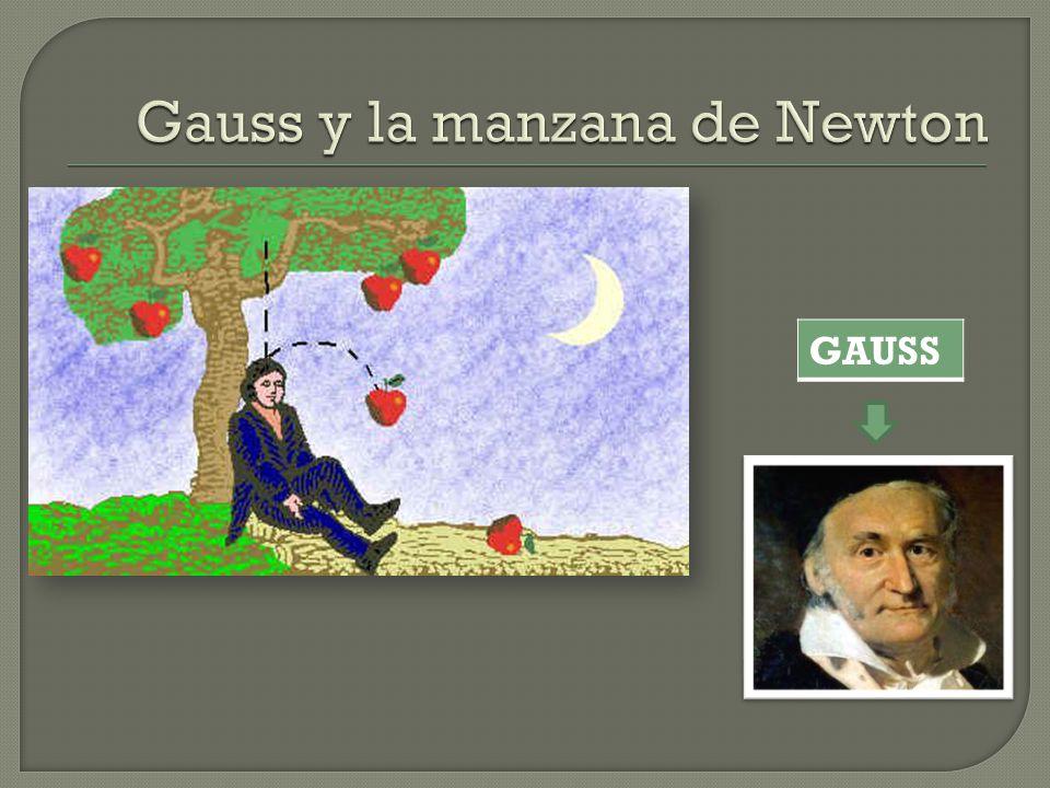 Gauss y la manzana de Newton