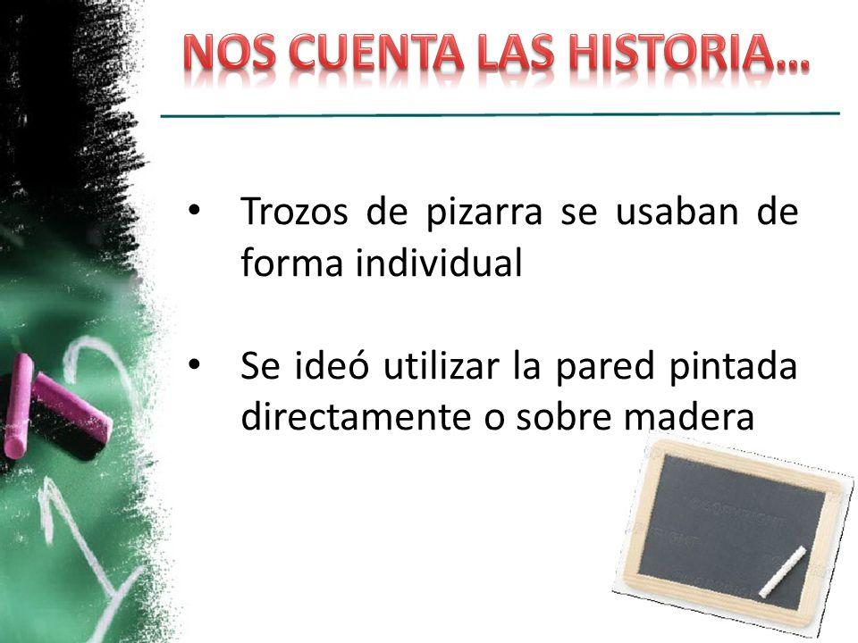 NOS CUENTA LAS HISTORIA…