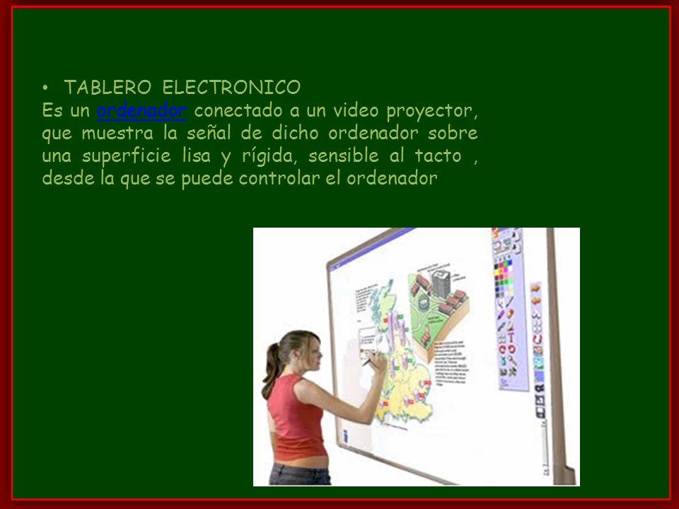 TABLERO ELECTRONICO