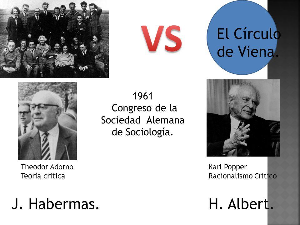 Congreso de la Sociedad Alemana de Sociología.