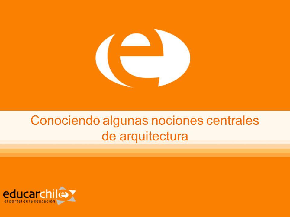 Conociendo algunas nociones centrales de arquitectura