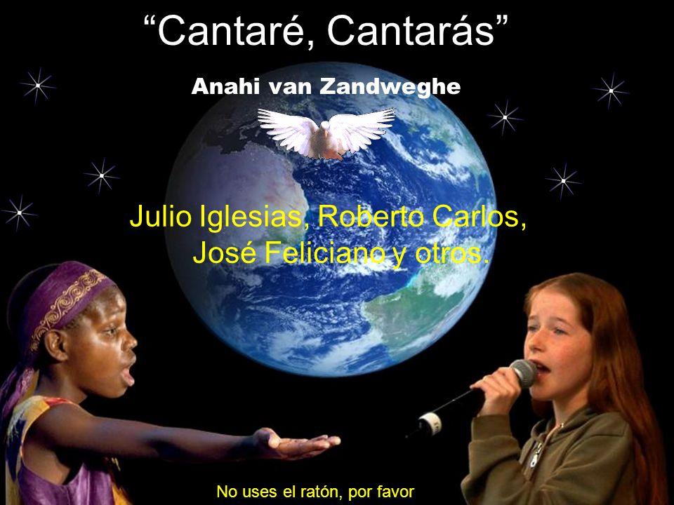 Cantaré, Cantarás Anahi van Zandweghe