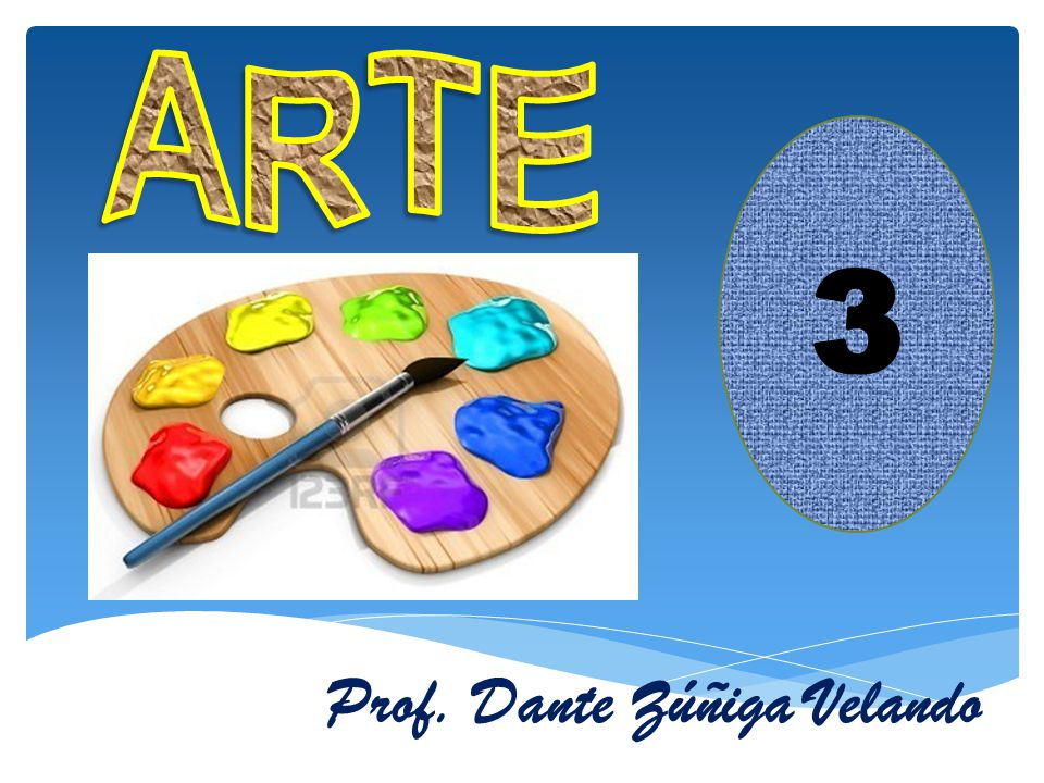 ARTE 3 Prof. Dante Zúñiga Velando