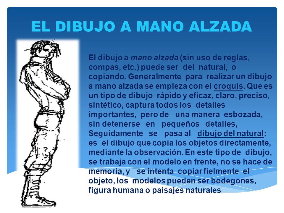 EL DIBUJO A MANO ALZADA