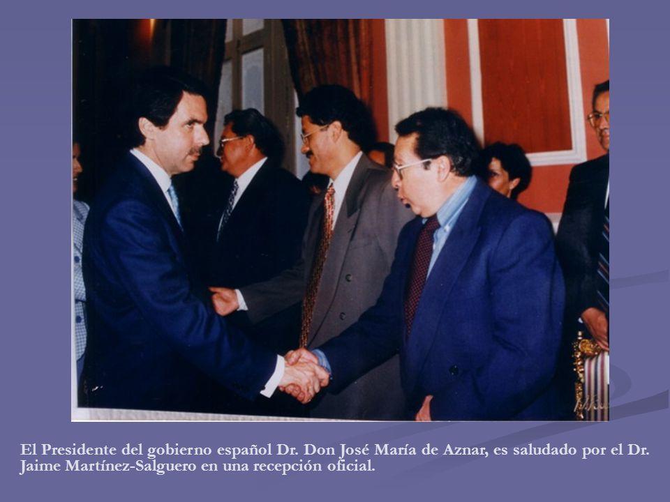 El Presidente del gobierno español Dr