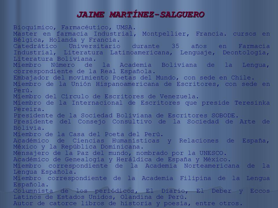 JAIME MARTÍNEZ-SALGUERO