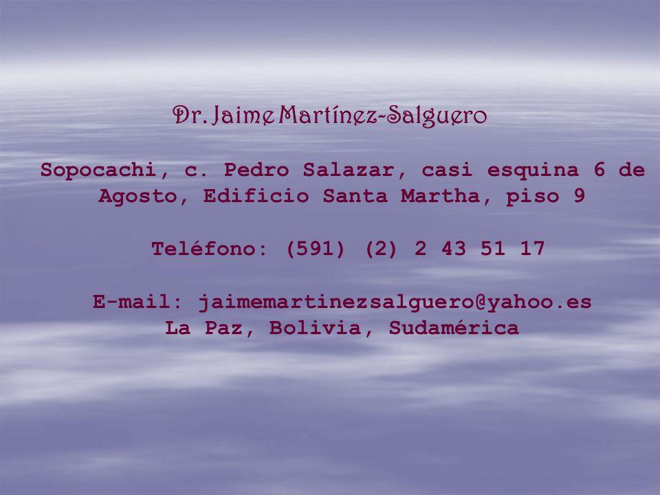 Dr. Jaime Martínez-Salguero Sopocachi, c