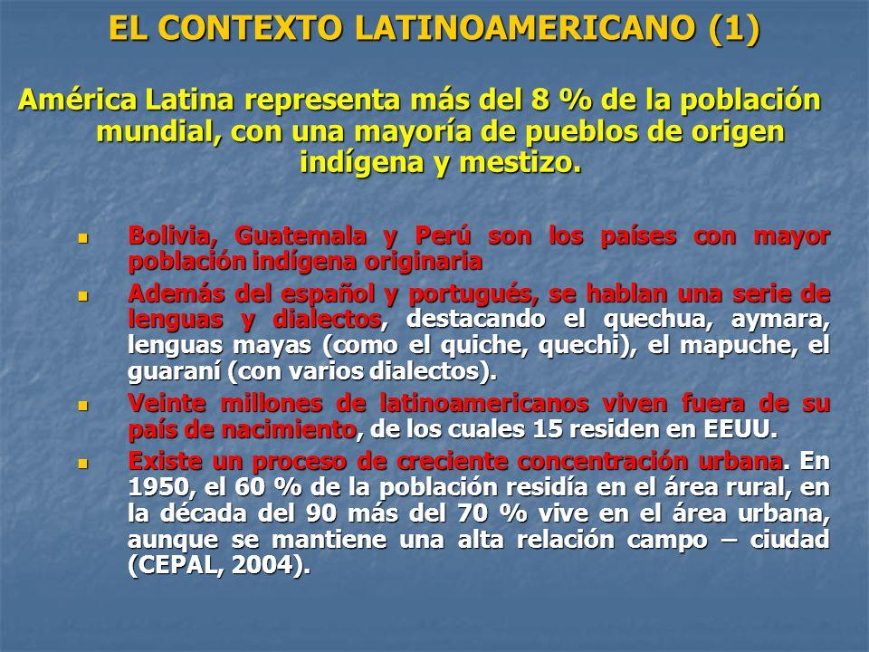 EL CONTEXTO LATINOAMERICANO (1)