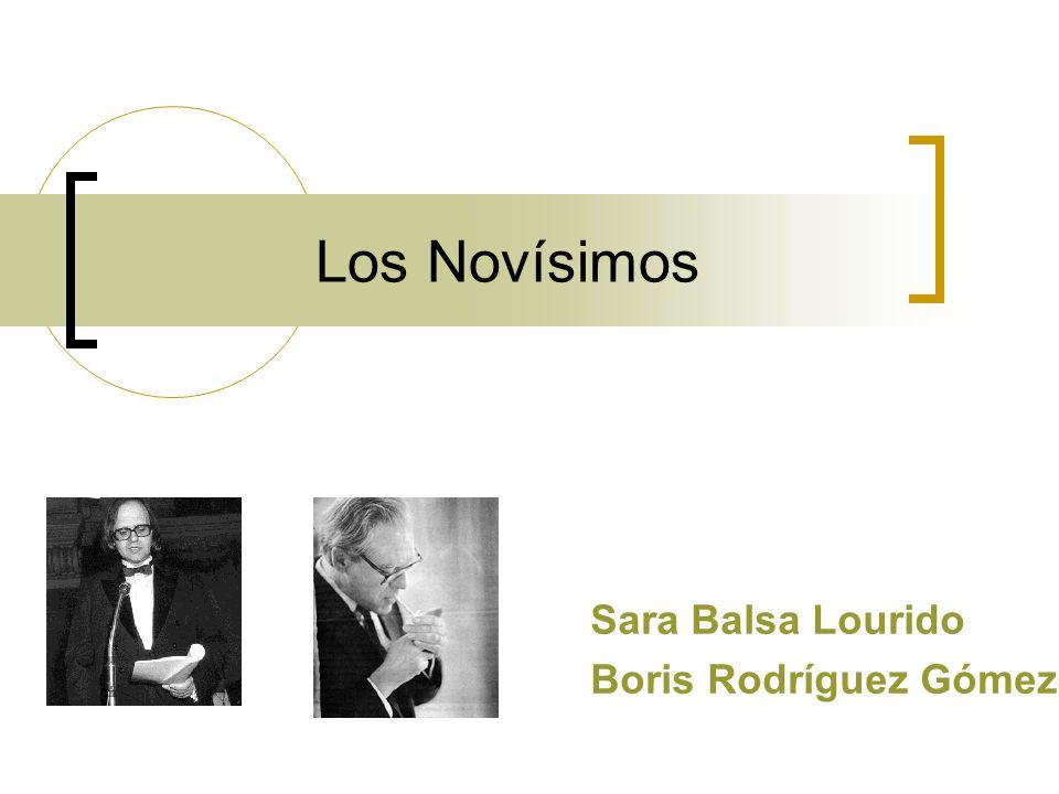Sara Balsa Lourido Boris Rodríguez Gómez