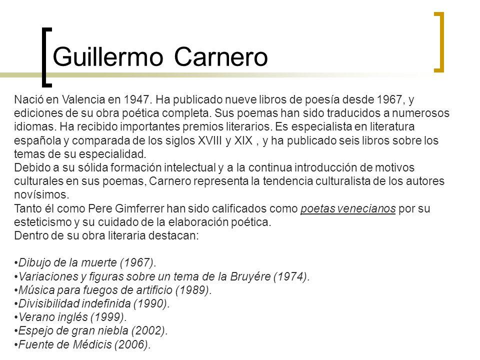 Guillermo Carnero