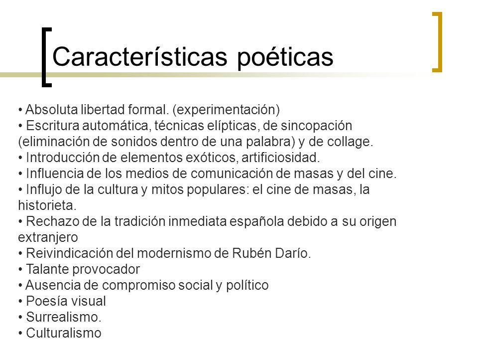 Características poéticas