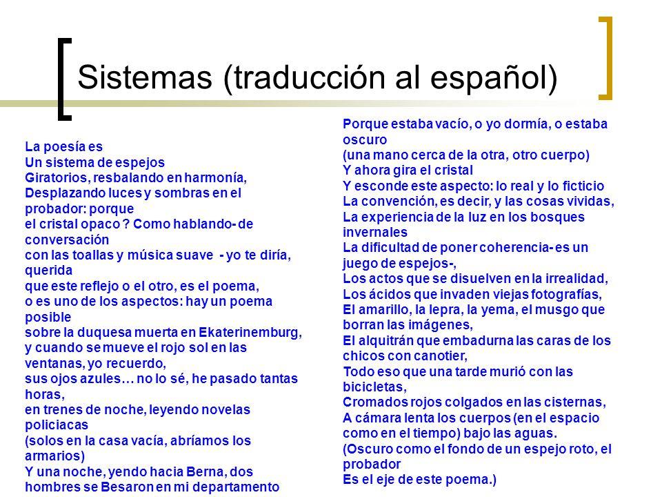Sistemas (traducción al español)