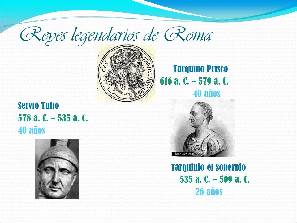 Reyes legendarios de Roma